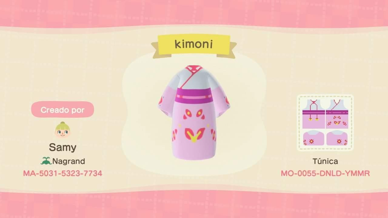 Kimoni Pink - Animal Crossing: New Horizons Custom Design