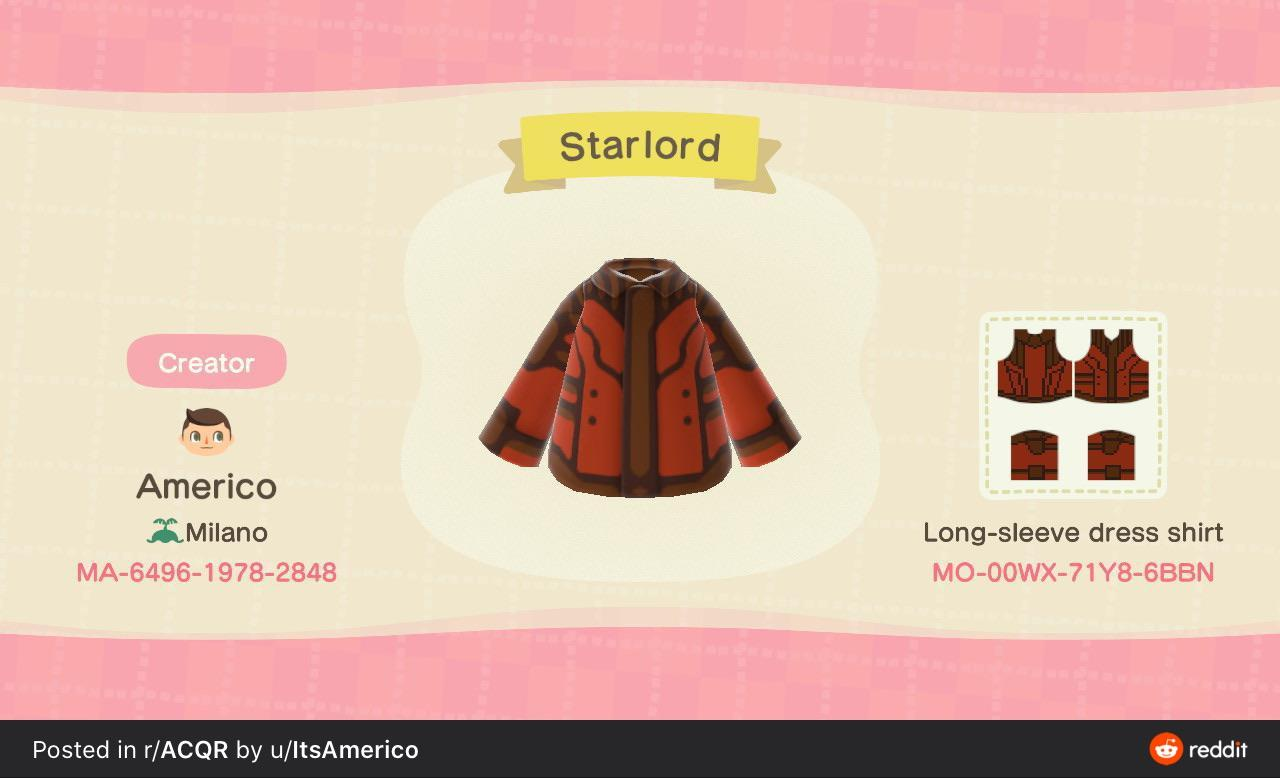 Star lord - Animal Crossing: New Horizons Custom Design