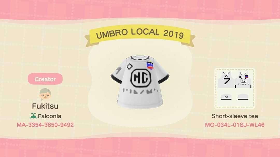 UMBRO LOCAL 2019 - Animal Crossing: New Horizons Custom Design