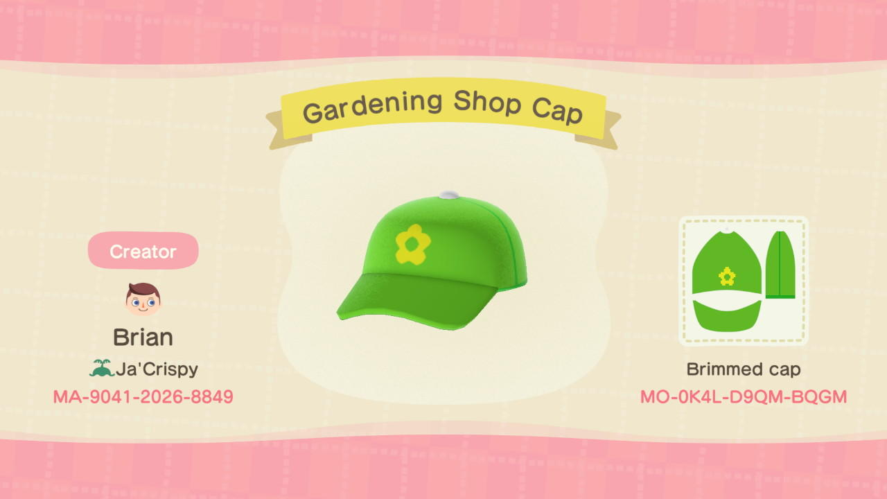 Garden Shop Leif - Animal Crossing: New Horizons Custom Design