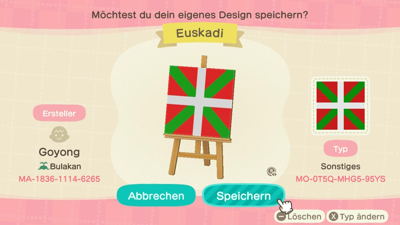 Basque Country - Animal Crossing: New Horizons Custom Design