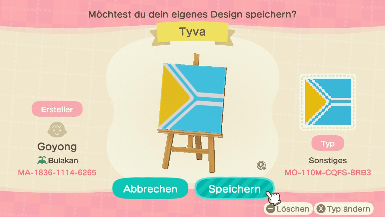 Tuva - Animal Crossing: New Horizons Custom Design