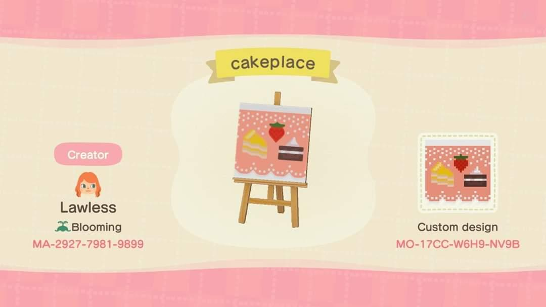 Cakeplace - Animal Crossing: New Horizons Custom Design