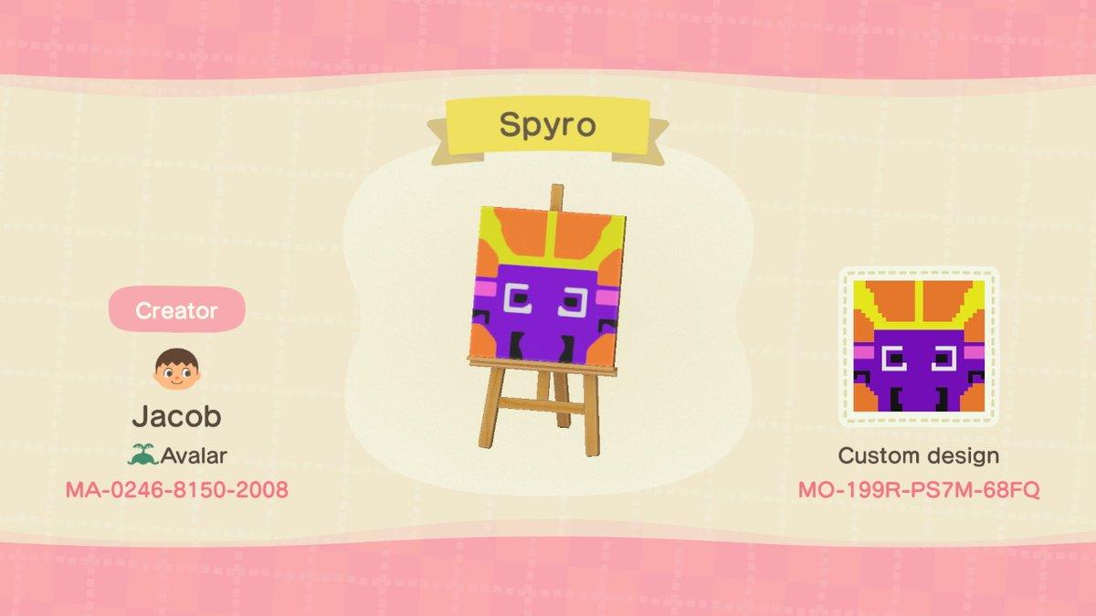 Spyro - Animal Crossing: New Horizons Custom Design