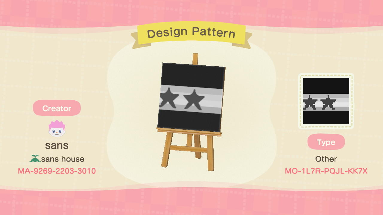 Random design - Animal Crossing: New Horizons Custom Design
