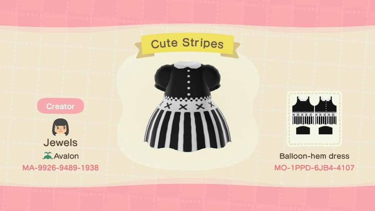 Cute Stripes - Animal Crossing: New Horizons Custom Design