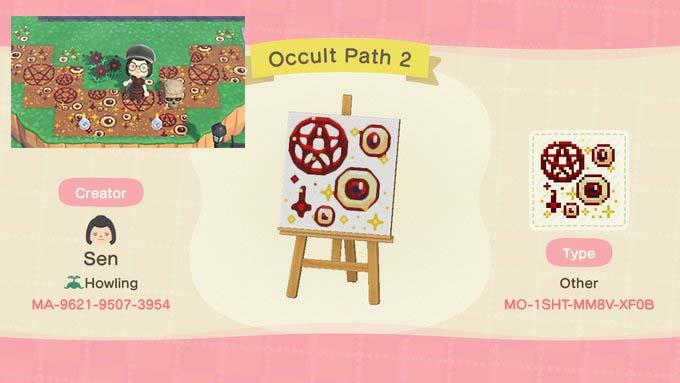 Occult Path - Animal Crossing: New Horizons Custom Design