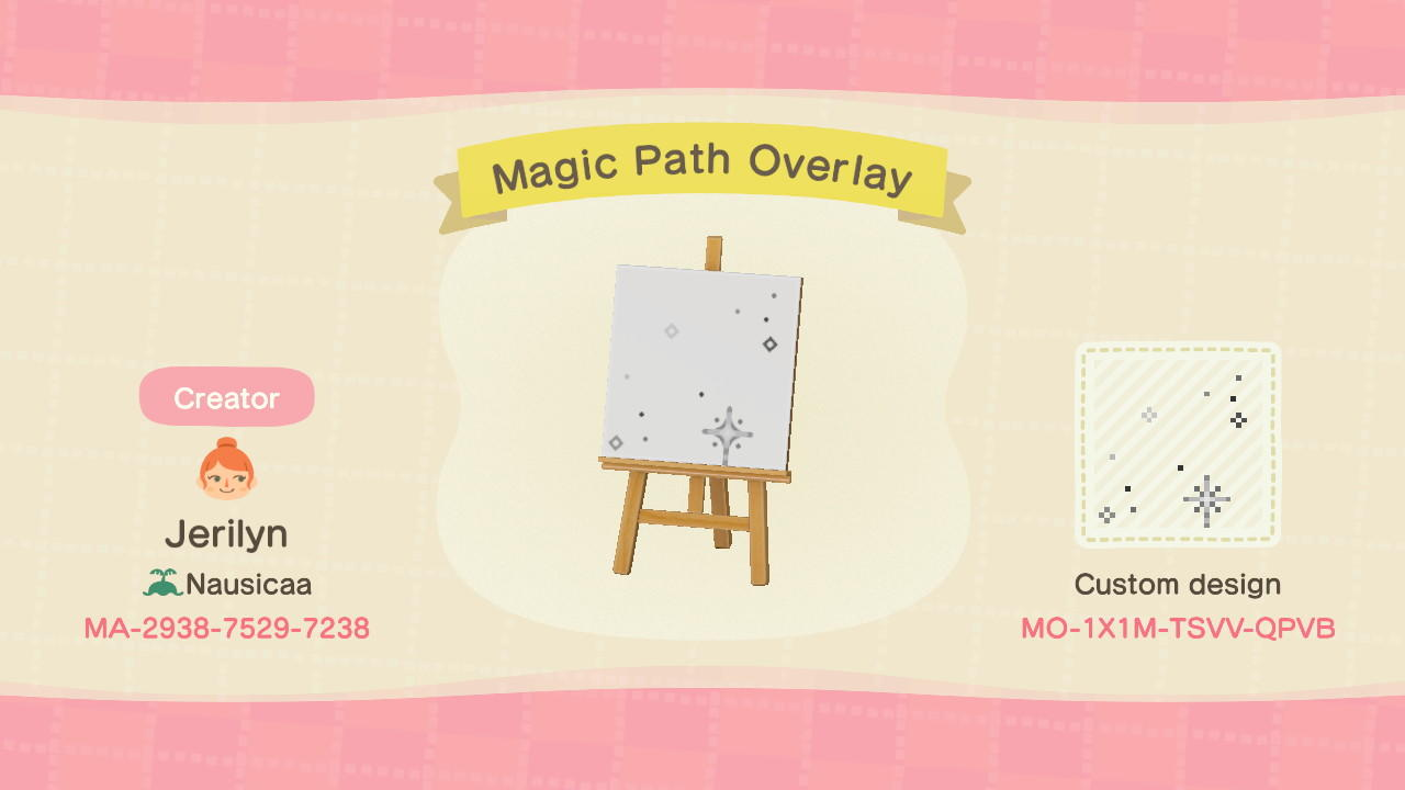 Magic Path Overlay G Animal Crossing New Horizons Custom Design Nook S Island
