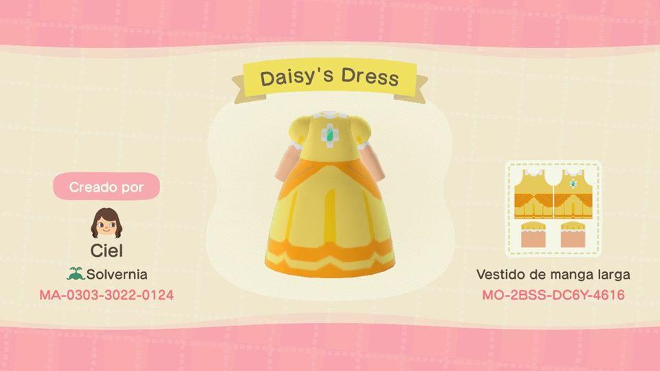 Daisy's Dress - Animal Crossing: New Horizons Custom Design