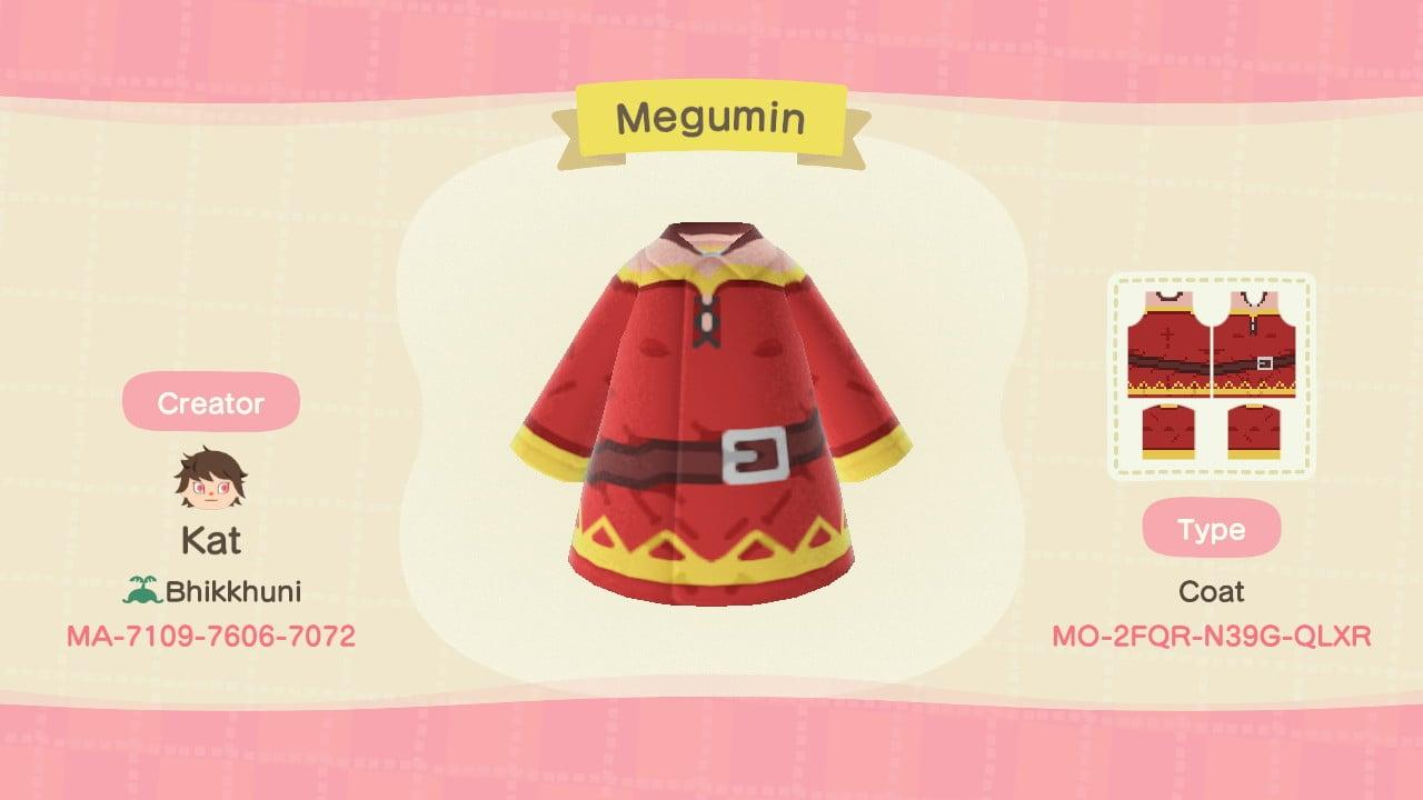Megumin - Animal Crossing: New Horizons Custom Design