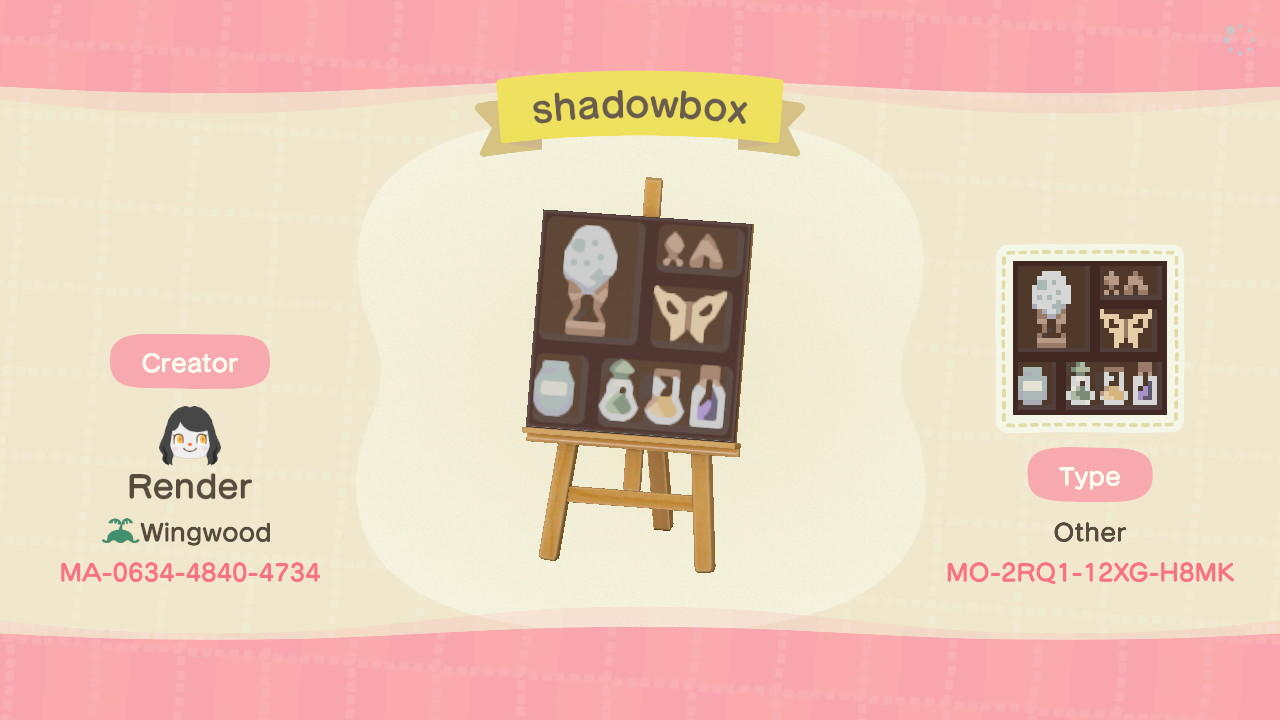 Shadowbox - Animal Crossing: New Horizons Custom Design