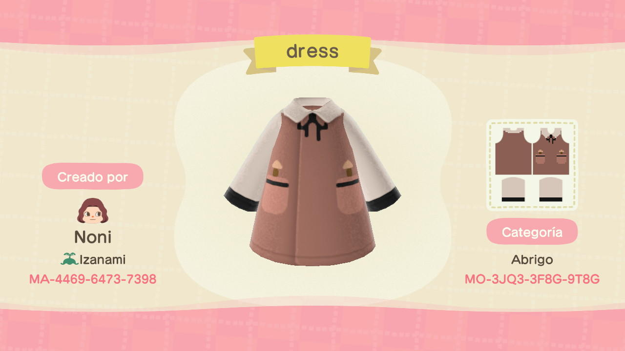 Dress - Animal Crossing: New Horizons Custom Design