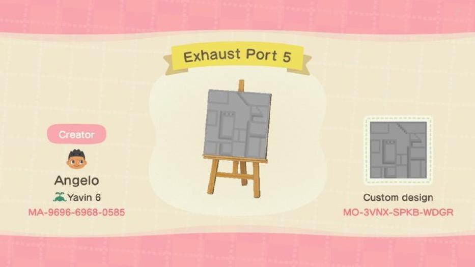 Exhaust Port 5 - Animal Crossing: New Horizons Custom Design