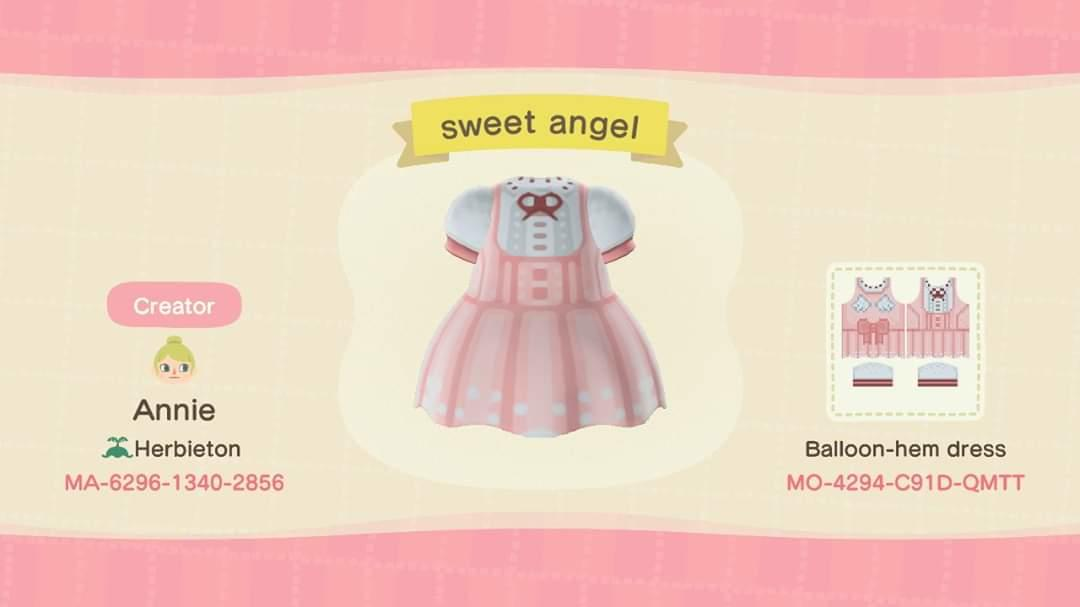 sweet angel - Animal Crossing: New Horizons Custom Design