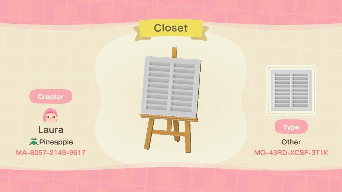 Closet door - Animal Crossing: New Horizons Custom Design