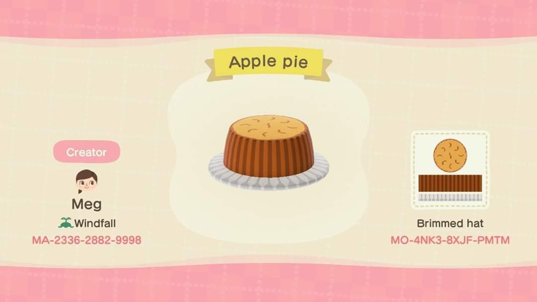 Apple pie - Animal Crossing: New Horizons Custom Design