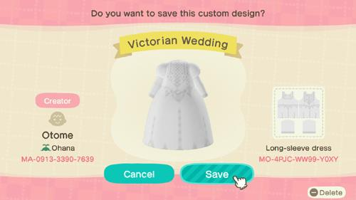 Victorian Wedding - Animal Crossing: New Horizons Custom Design