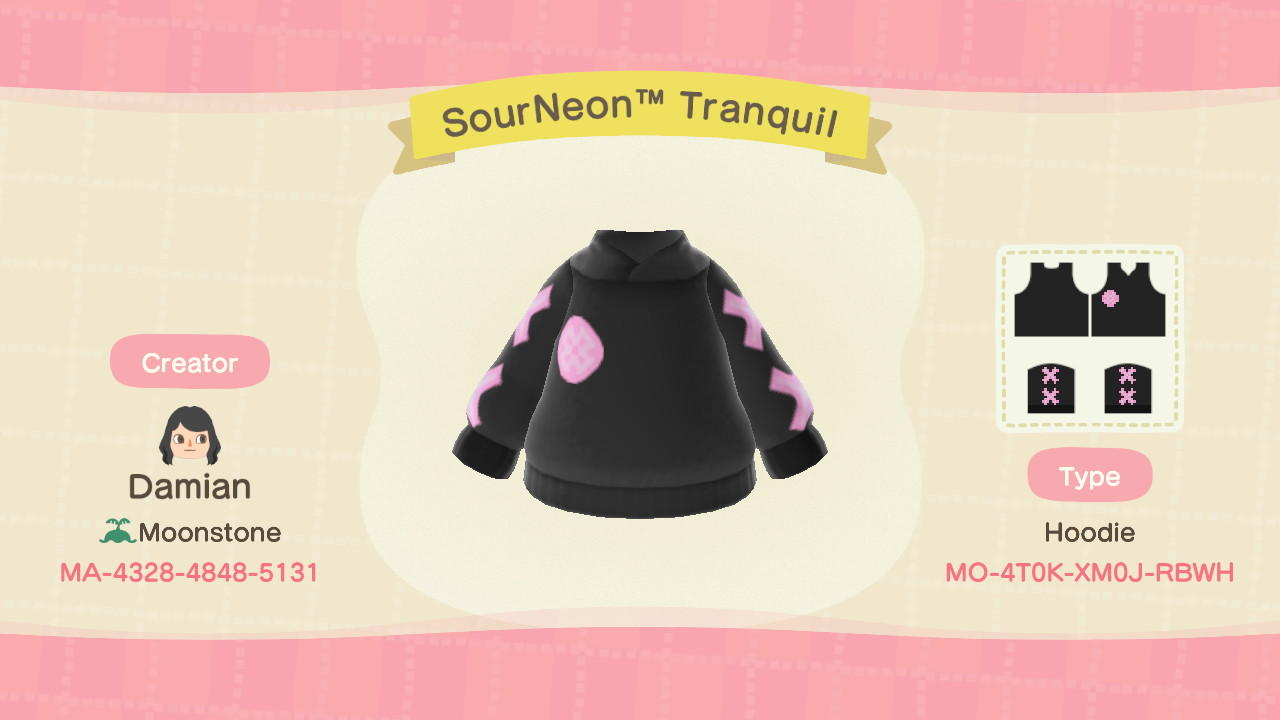 SourNeonTM Tranquil - Animal Crossing: New Horizons Custom Design
