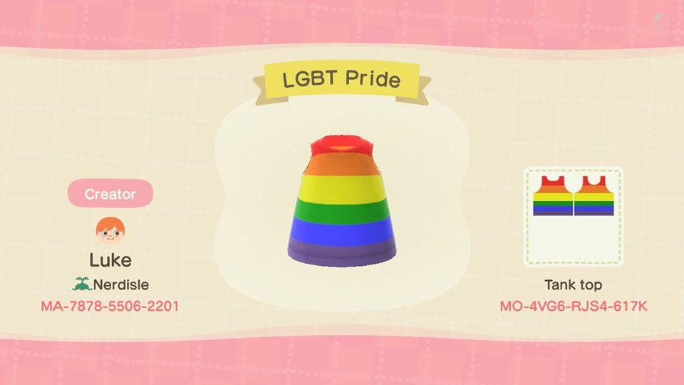 LGBT Pride - Animal Crossing: New Horizons Custom Design
