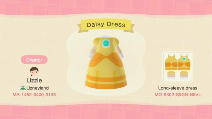 Daisy Dress - Animal Crossing: New Horizons Custom Design