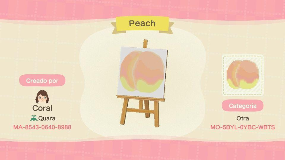 Peach - Animal Crossing: New Horizons Custom Design