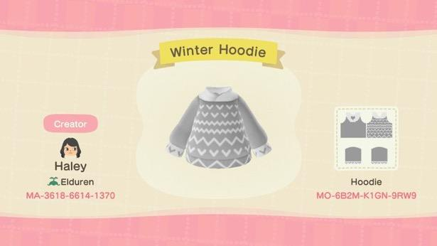 Winter Hoodie - Animal Crossing: New Horizons Custom Design