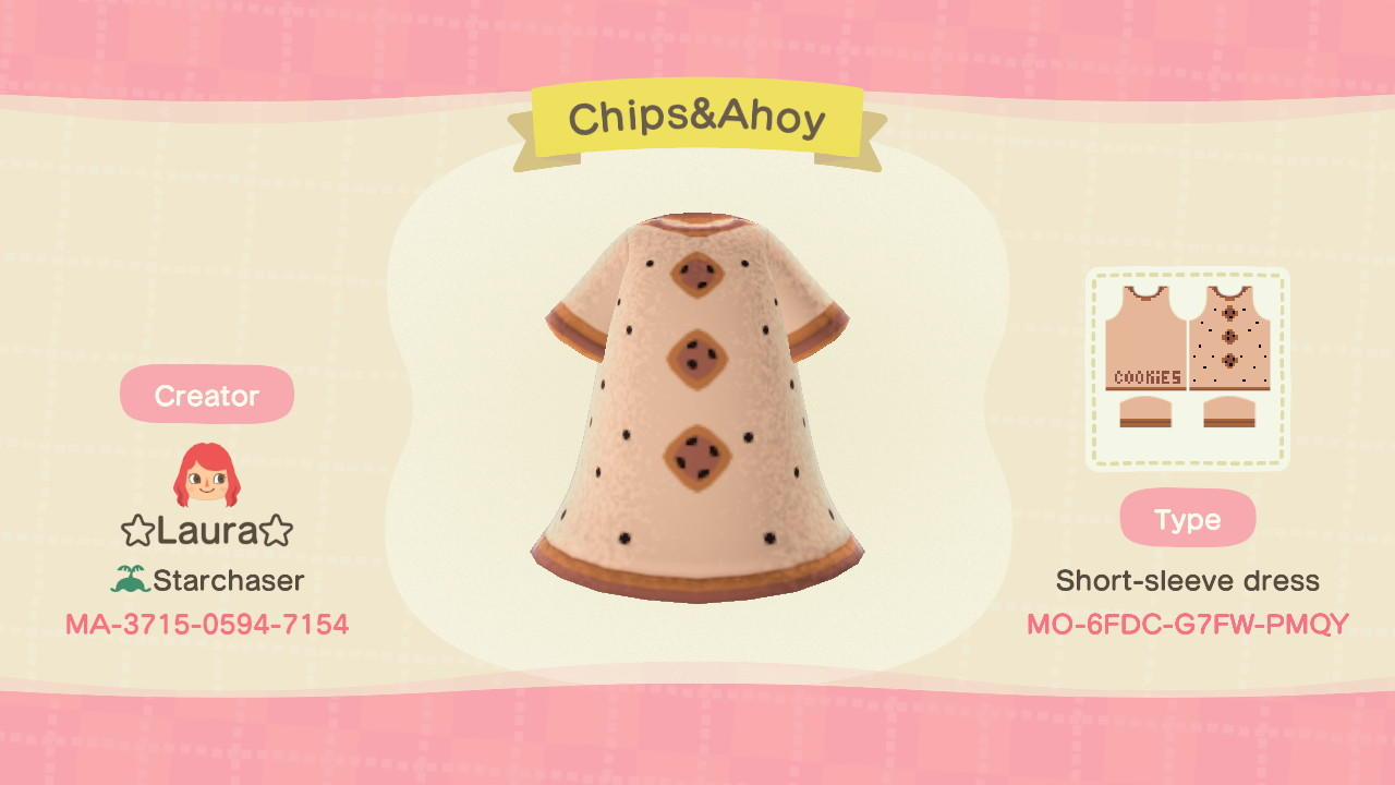 Chips&Ahoy - Animal Crossing: New Horizons Custom Design