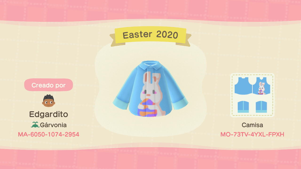 Easter 2020 - Animal Crossing: New Horizons Custom Design