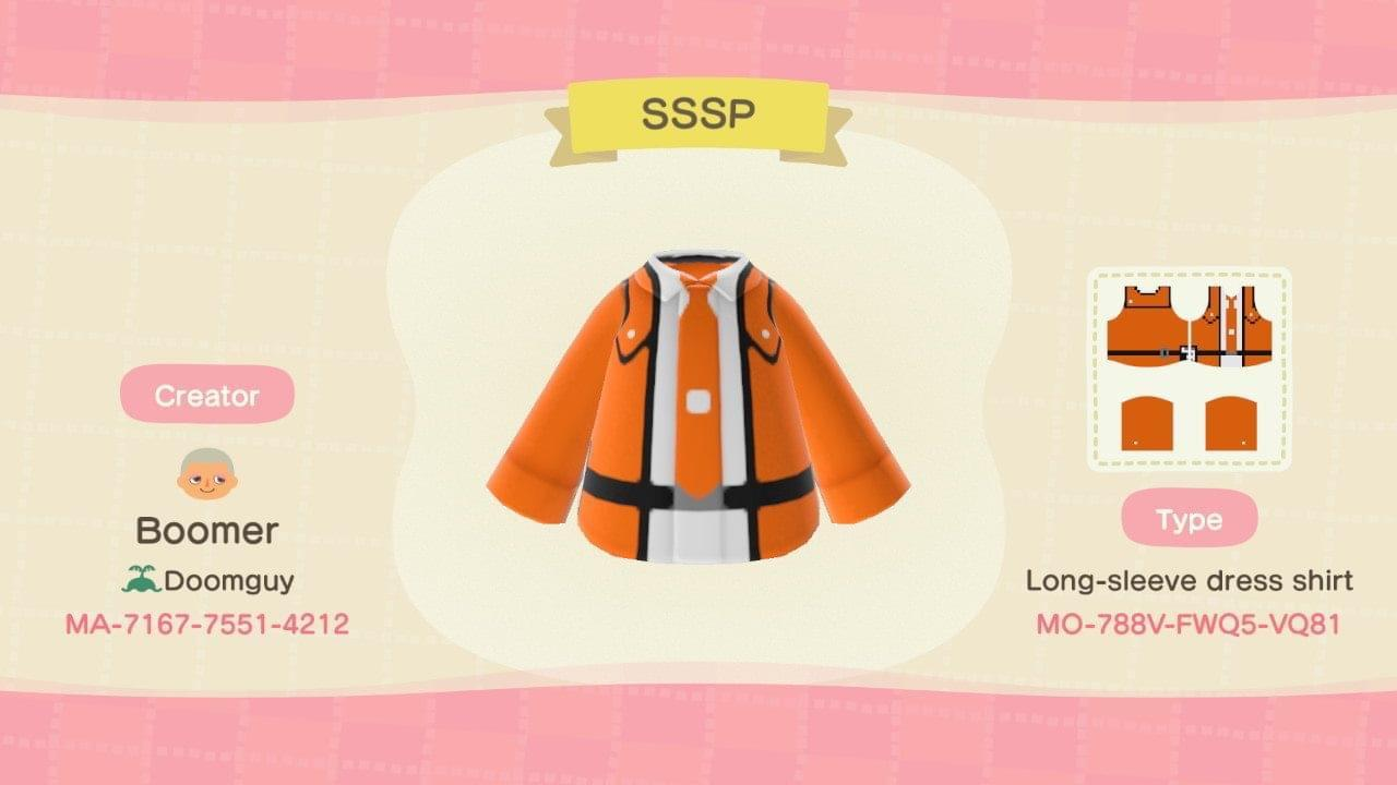 SSSP - Animal Crossing: New Horizons Custom Design