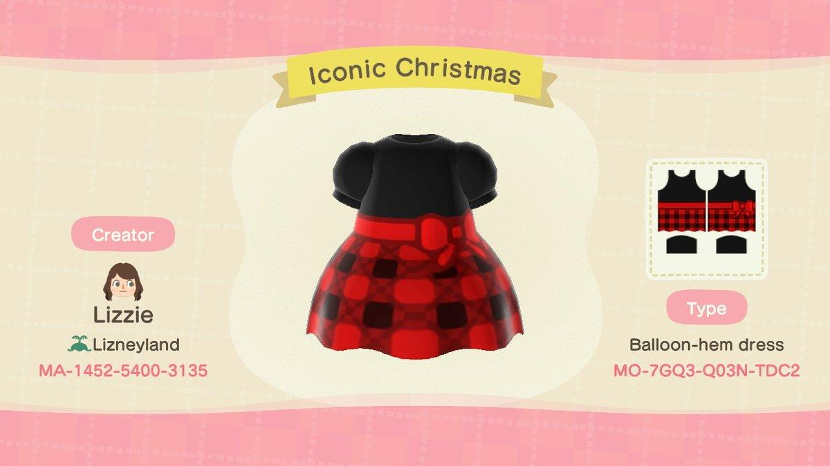 Iconic Christmas Fit - Animal Crossing: New Horizons Custom Design