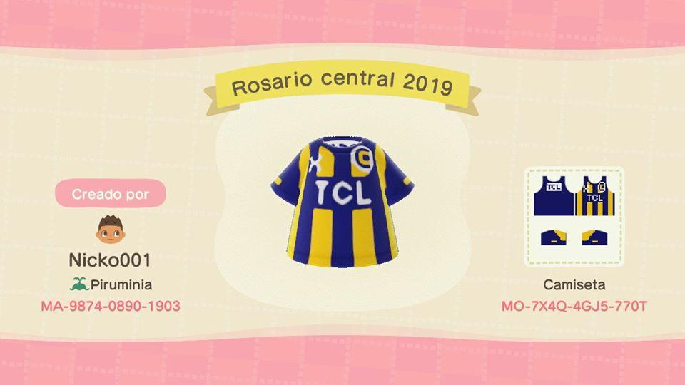 Rosario central 2019 - Animal Crossing: New Horizons Custom Design