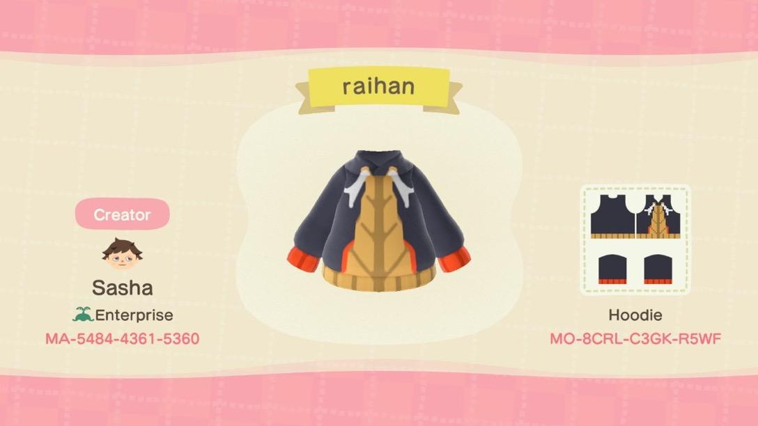 Raihan (pokemon) - Animal Crossing: New Horizons Custom Design