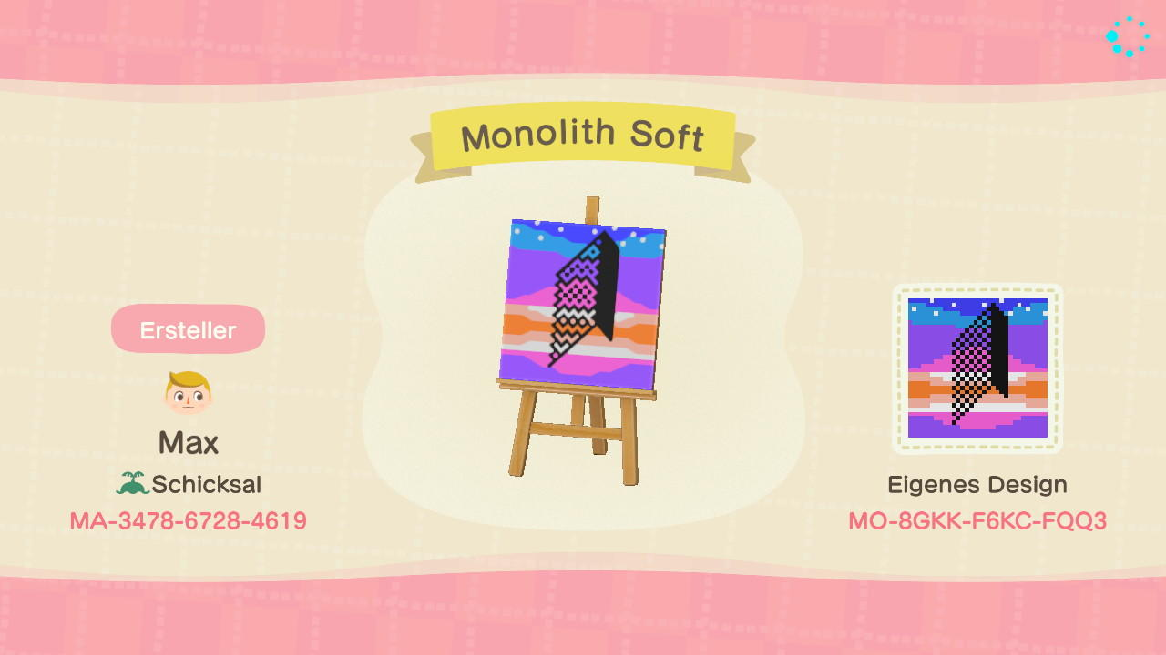 Monolith Soft - Animal Crossing: New Horizons Custom Design