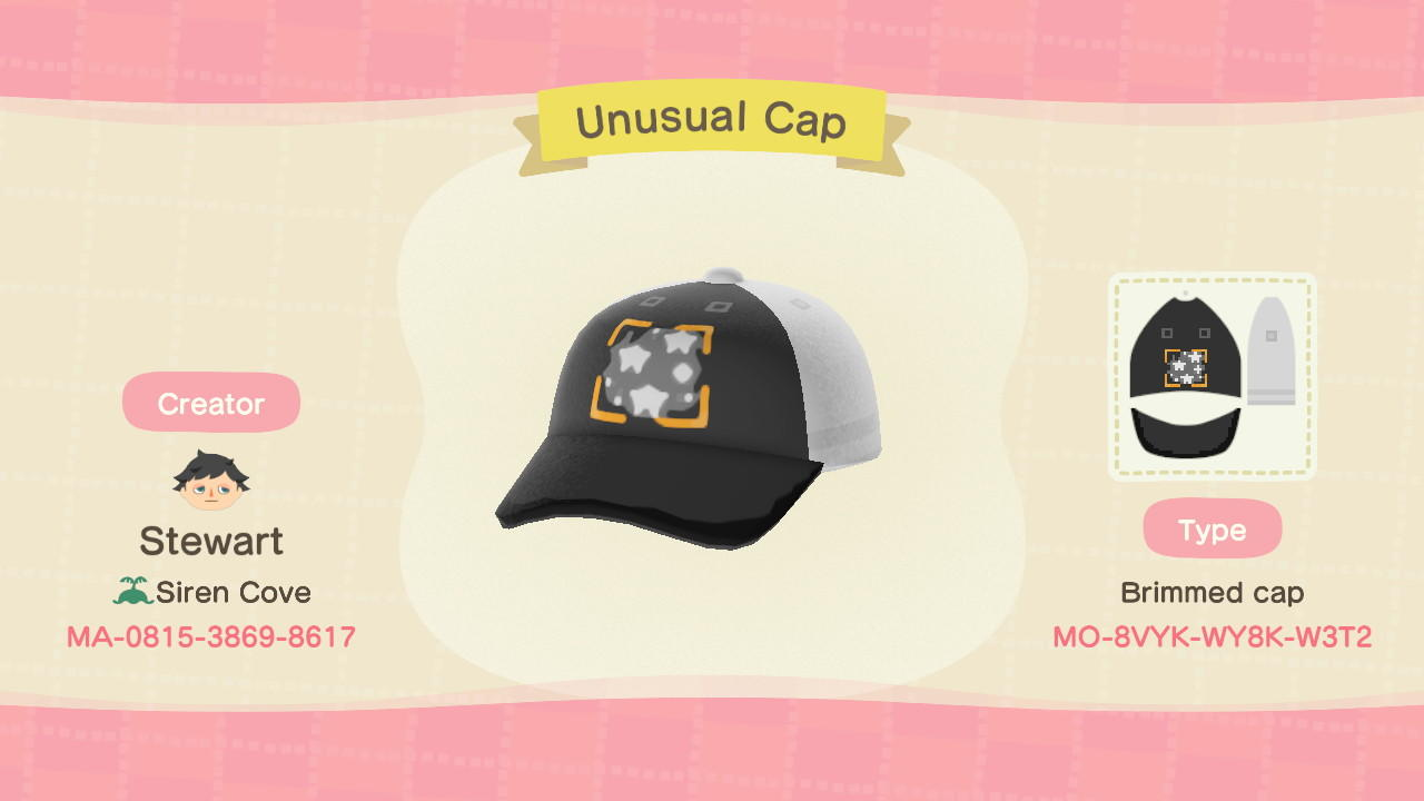 Unusual Cap - Animal Crossing: New Horizons Custom Design