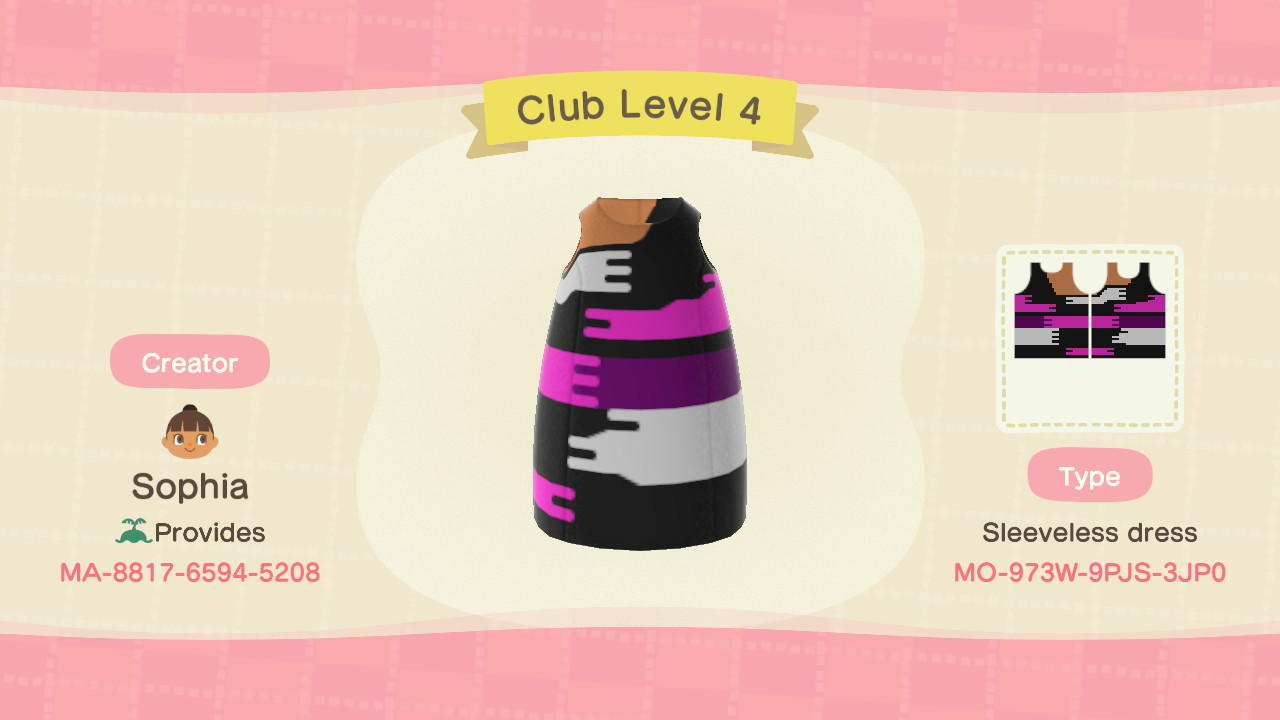 Club Level 4 - Animal Crossing: New Horizons Custom Design