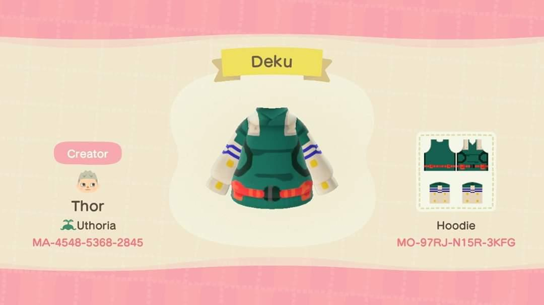 Deku - Animal Crossing: New Horizons Custom Design