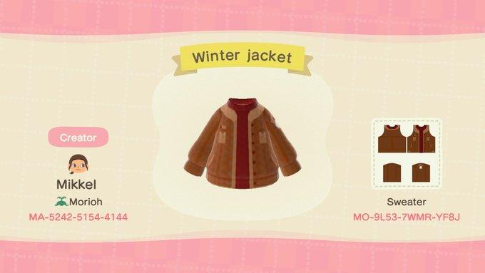 Winter jacket - Animal Crossing: New Horizons Custom Design