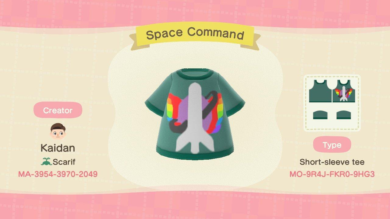 Space Command - Animal Crossing: New Horizons Custom Design