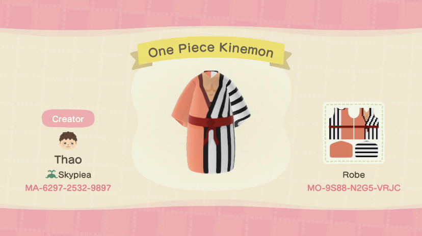 One Piece Kinemon  - Animal Crossing: New Horizons Custom Design
