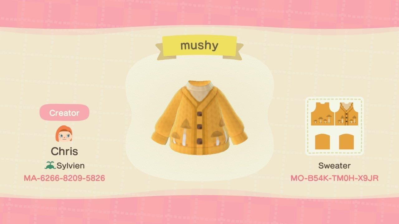 Mush Sweater  - Animal Crossing: New Horizons Custom Design