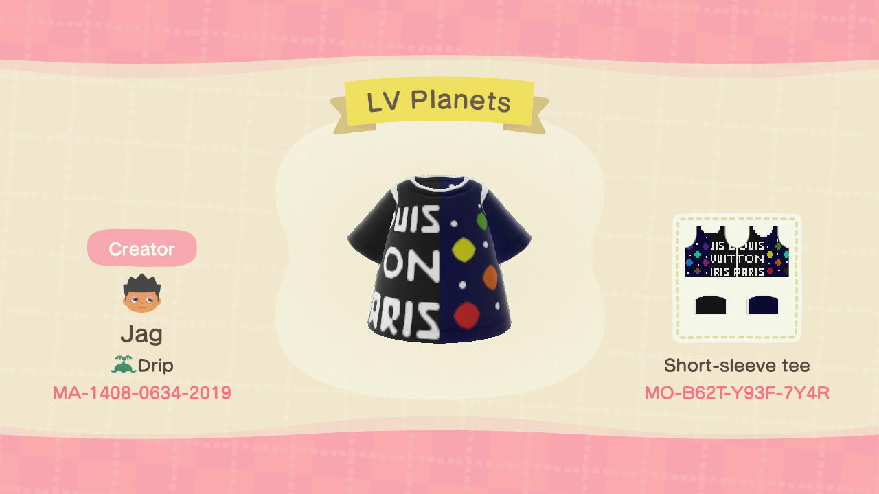LV Planets - Animal Crossing: New Horizons Custom Design