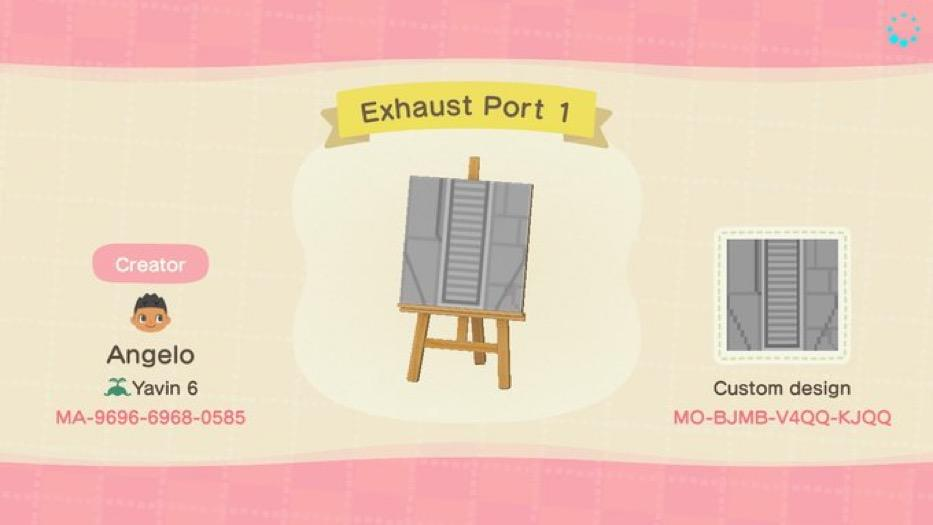 Exhaust Port 1 - Animal Crossing: New Horizons Custom Design