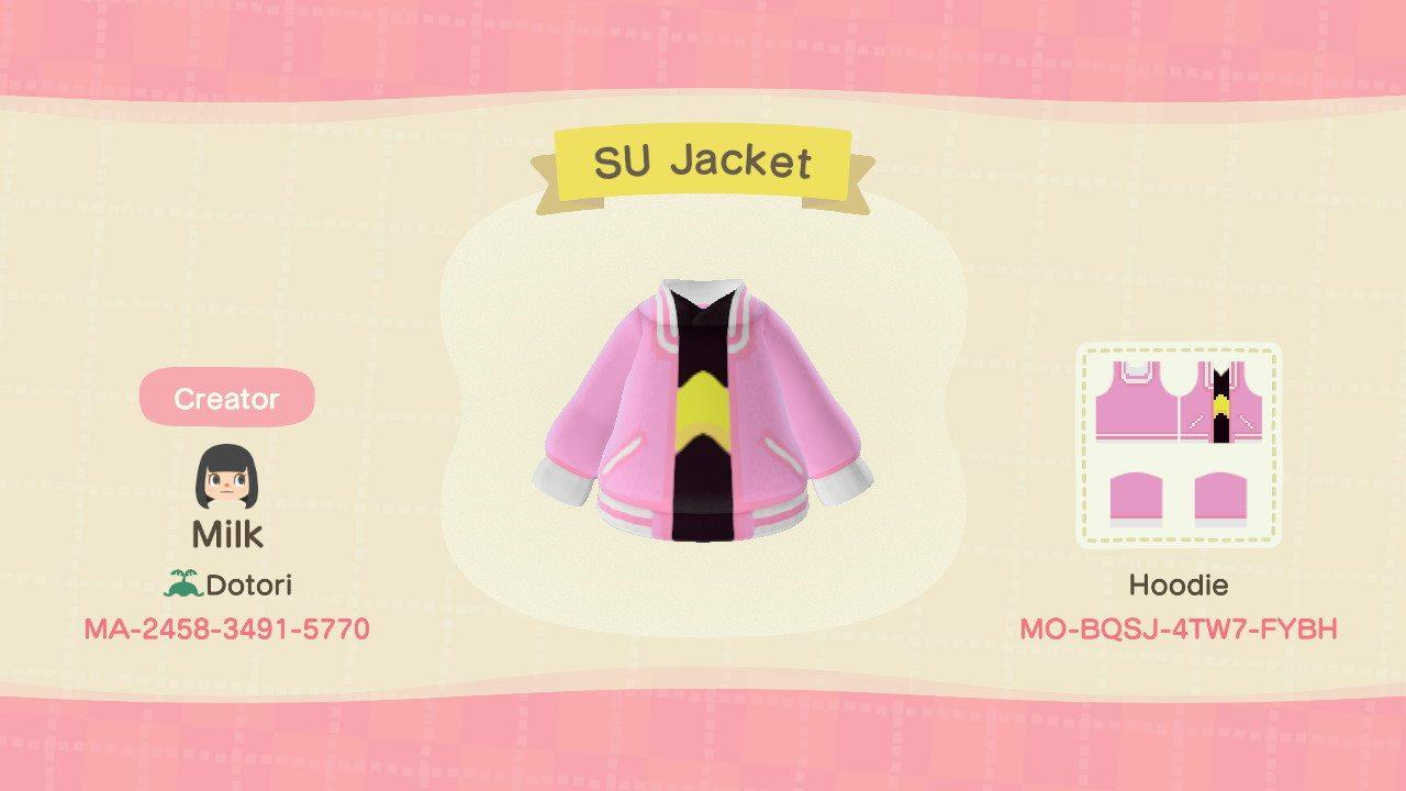 SU Jacket - Animal Crossing: New Horizons Custom Design