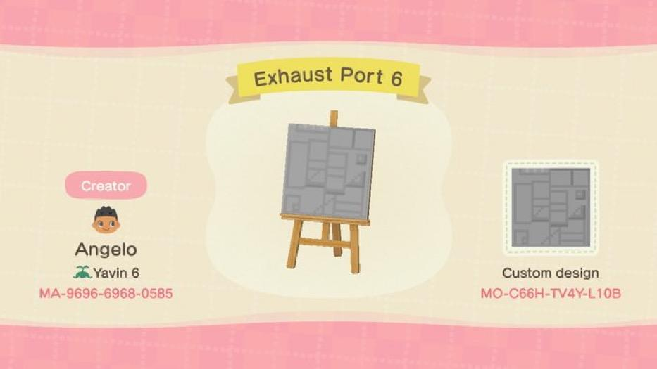 Exhaust Port 6 - Animal Crossing: New Horizons Custom Design