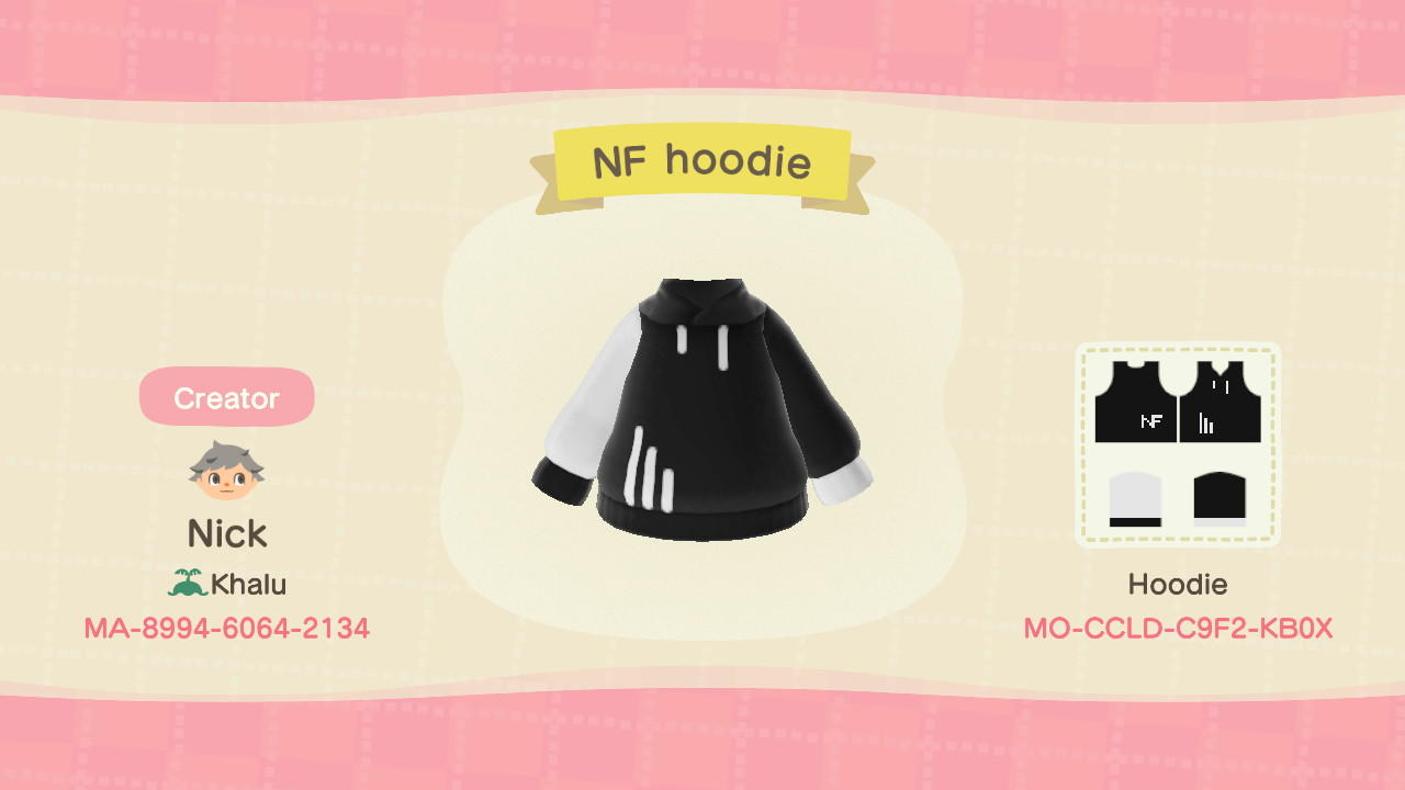 NF Hoodie - Animal Crossing: New Horizons Custom Design