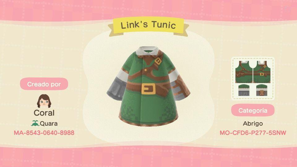 Link's Tunic - Animal Crossing: New Horizons Custom Design