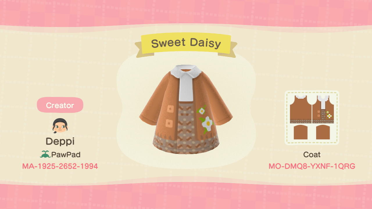 Sweet Daisy - Animal Crossing: New Horizons Custom Design