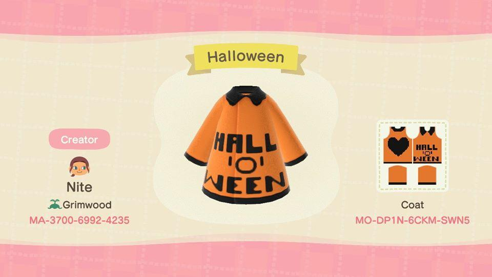 Halloween - Animal Crossing: New Horizons Custom Design