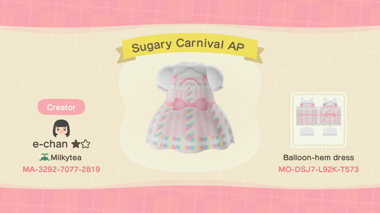 Sugary Carnival AP - Animal Crossing: New Horizons Custom Design