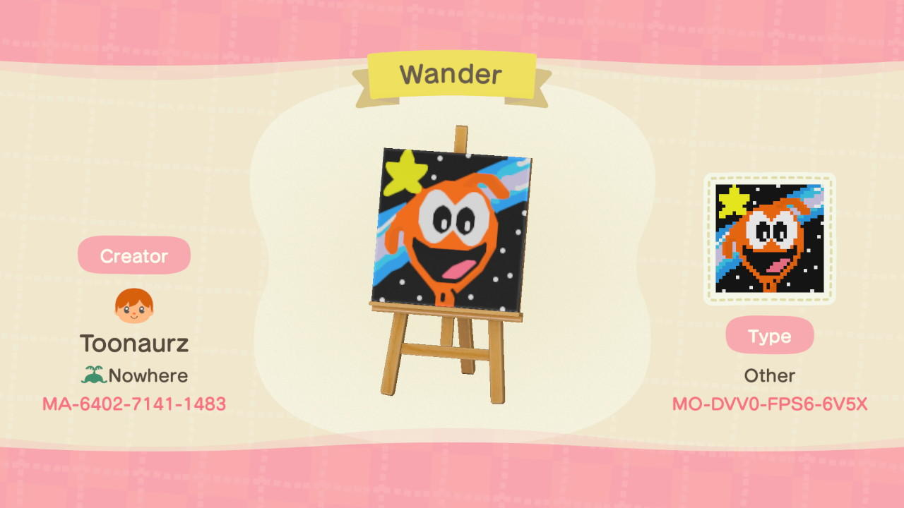 Wander - Animal Crossing: New Horizons Custom Design